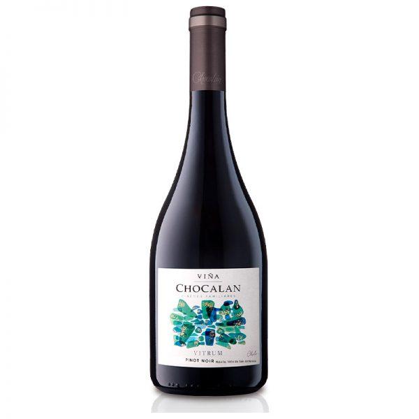 Vitrum Pinot Noir Línea Vitrum Viña Chocalán 750 cc